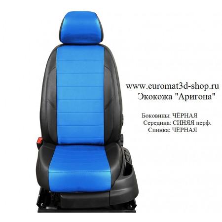 Авточехлы оригинальные из экокожи для сидений Mitsubishi Galant № AVP-001104