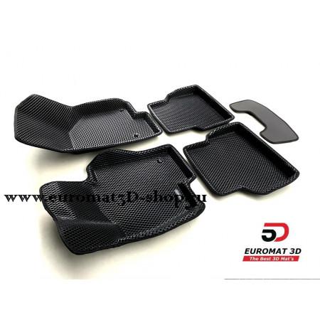 3D Коврики Euromat3D EVA В Салон Для VOLKSWAGEN Jetta (2010-) № EM3DEVA-005414