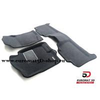 Текстильные 3D Коврики Euromat3D Business В Салон Для CADILLAC Escalade (2007-2015) № EMC3D-001302G Серые