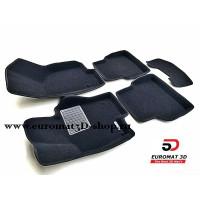 Текстильные 3D коврики Euromat3D Business в салон для VOLKSWAGEN Jetta (2010-) № EMC3D-005414
