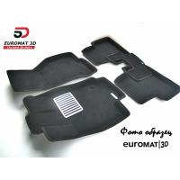 Текстильные 3D коврики Euromat в салон для CADILLAC SRX (2003-2009) № EM3D-001303