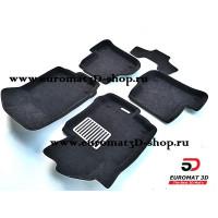 Текстильные 3D коврики Euromat в салон для VOLKSWAGEN Scirocco (2009-) № EM3D-004502