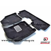 Текстильные 3D коврики Euromat в салон для CADILLAC SRX (2010-2015) № EM3D-001304