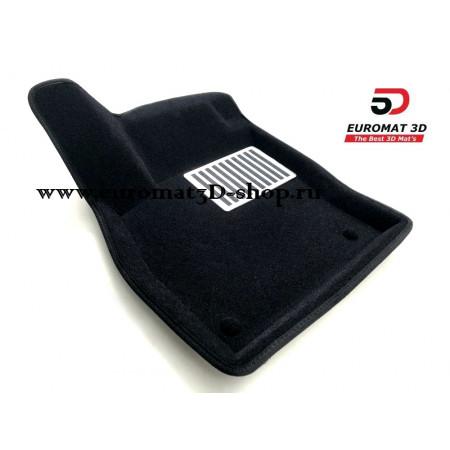 Текстильные 3D коврики Euromat в салон для AUDI Q3 (2020-) № EM3D-001115