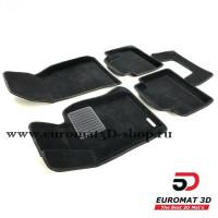 Текстильные 3D коврики Euromat3D Business в салон для BMW 4 (F32/33) (2012-) № EMC3D-001221